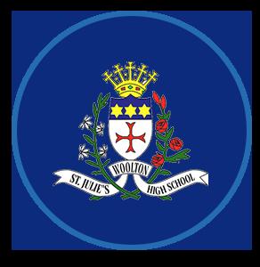 St Julie's Catholic High School logo