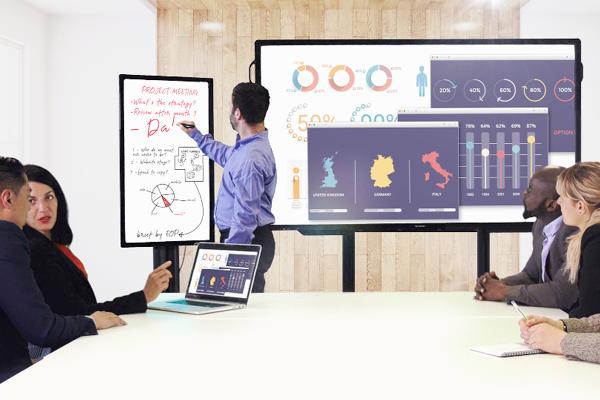 Monitore in Meetings
